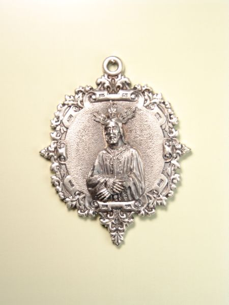 "RELIGIOUS MEDALS images RELIEVE ""NTRO. FATHER JESUS ​​PRISONER 70 MM"""