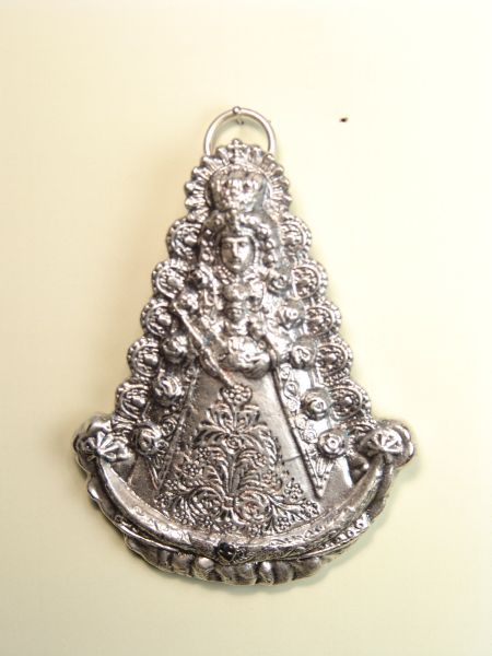 "RELIGIOUS MEDALS images RELIEVE ""VIRGIN OF SILHOUETTE ROCI 80 MM"""