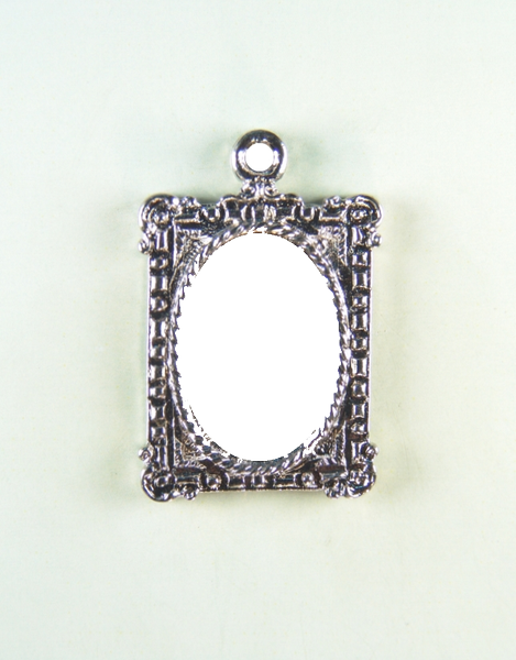 "Religious medal PHOTO MOD ""HEIGHT 30 MM SQUARE CAMEO"""