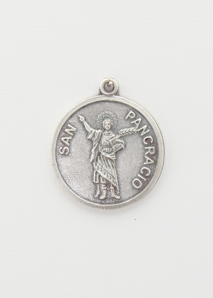 RELIEVE saints medal BAO 30 MM SILVER SAN SEBASTIAN