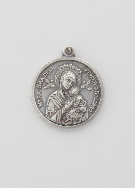 RELIEVE saints medal IMMACULATE CONCEPTION 30 MM