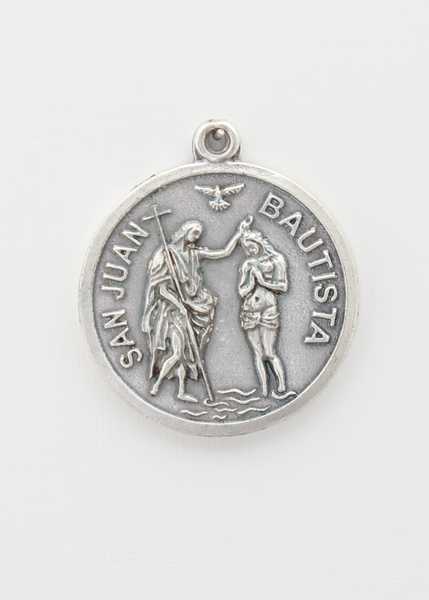 RELIEVE saints medal BAO 25 MM SILVER IMMACULATE CONCEPTION