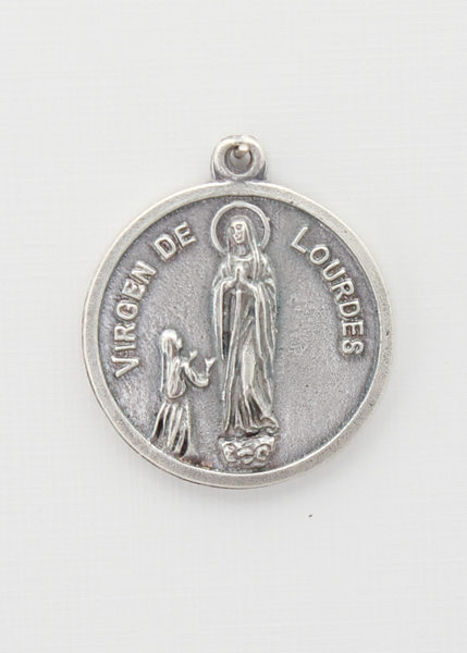 RELIEVE saints medal BAO 25 MM SILVER SANTA TERESA DE JESUS