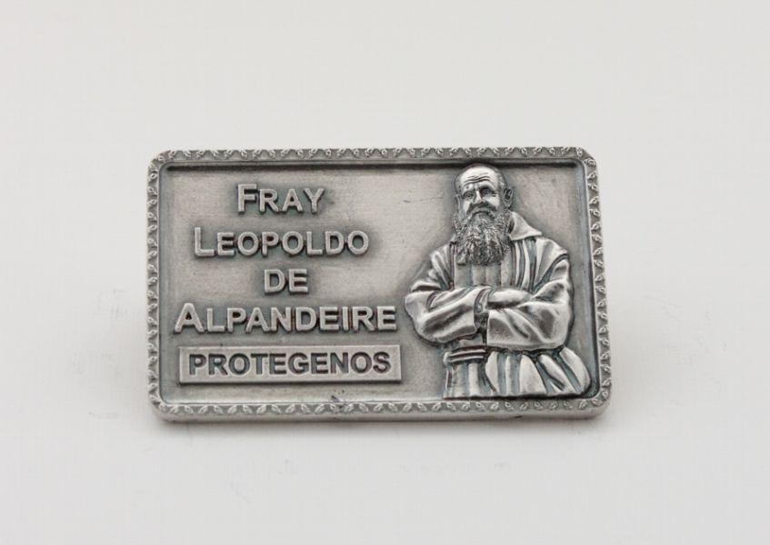 PLACA DE COCHE BURIL FRAY LEOPOLDO