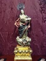 [ ¡VENDIDO! ]  Talla madera Inmaculada Concepción